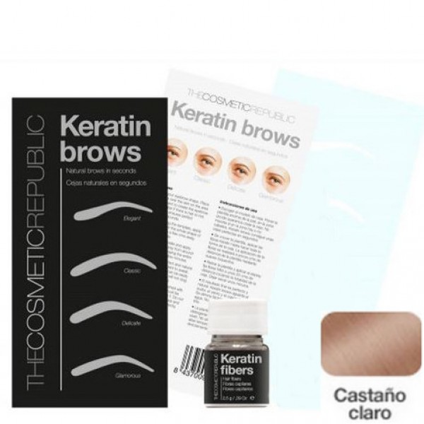 Kit Keratin Brows Castaño Claro