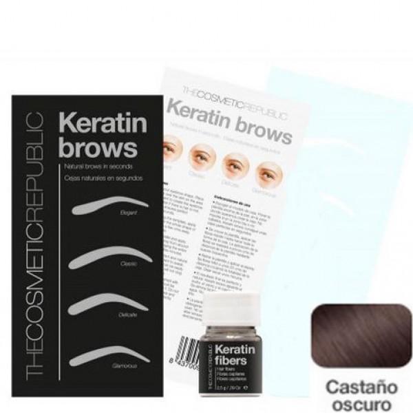 Kit Keratin Brows Castaño Oscuro