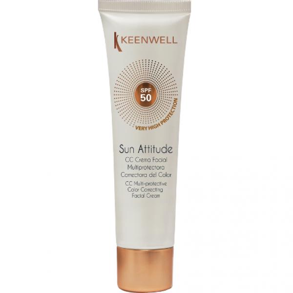 CC Crema Facial Multiprotectora Correctora SPF 50 60 ml