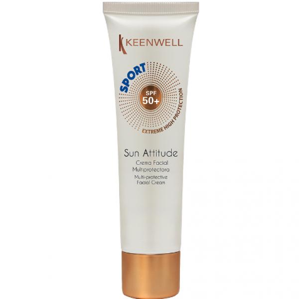 Crema Facial Multiprotectora SPF 50 SPORT 60 ml