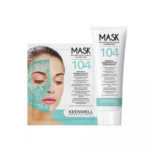 Mask 104 Mascarilla Rehidratante Activa Hidroprotectora 9 Unid.