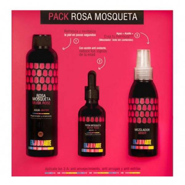 Pack Aceite y Agua Rosa Mosqueta