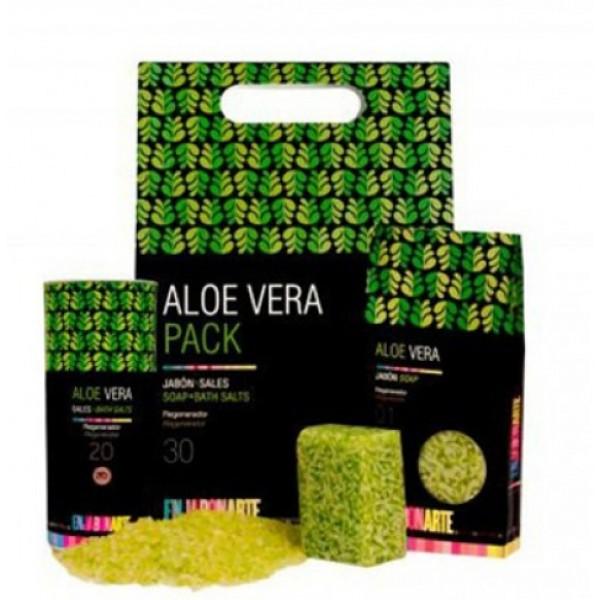 Pack Jabón y Sales de Baño de Aloe Vera