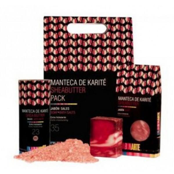 Pack Jabón y Sales de Baño Karité