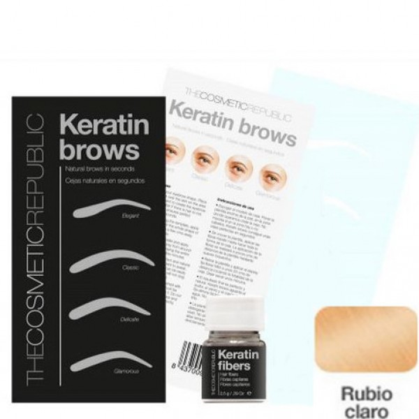 Kit Keratin Brows Rubio Claro
