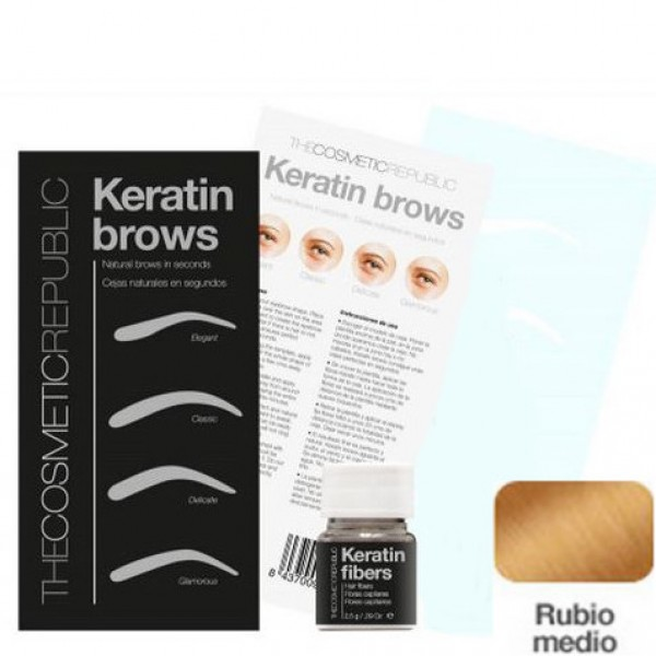 Kit Keratin Brows Rubio Medio