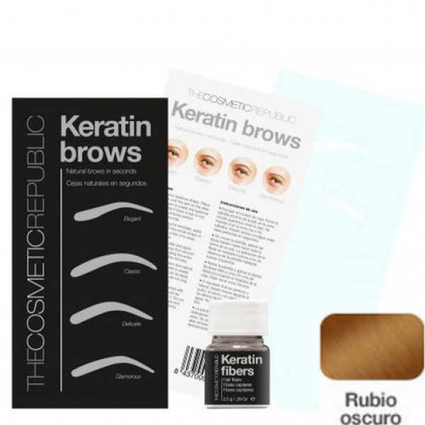 Kit Keratin Brows Rubio Oscuro